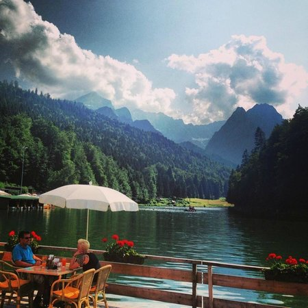 Riessersee Hotel : what a view !