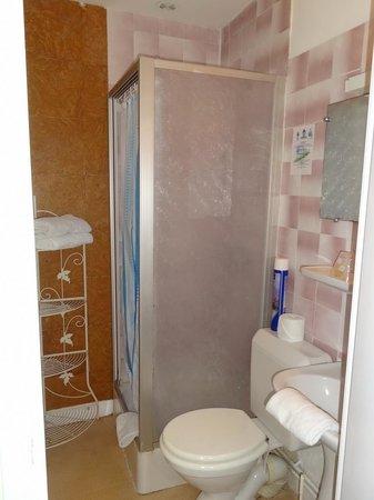 Hotel Saint-Etienne : Chambre 5 - Cabinet de toilette