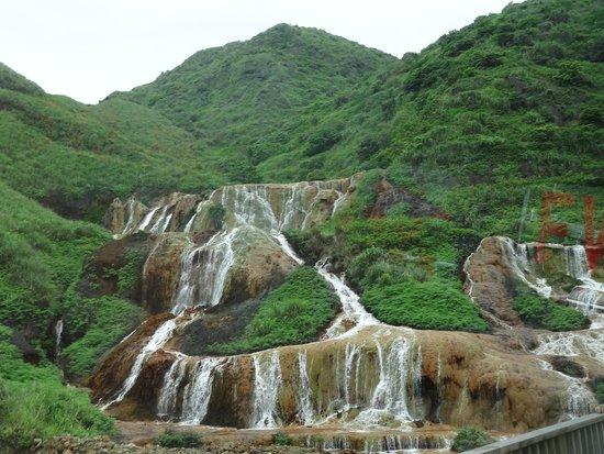 Golden Waterfall : 黄金瀑布