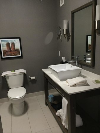 DoubleTree by Hilton West Fargo: Modern bathroom