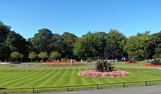 Parque St Stephen's Green: Last summer!