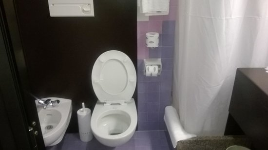 Hotel Panorama: bagno