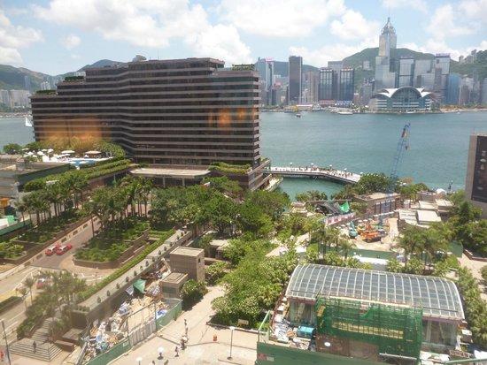 Sheraton Hong Kong Hotel & Towers: vue sur la baie