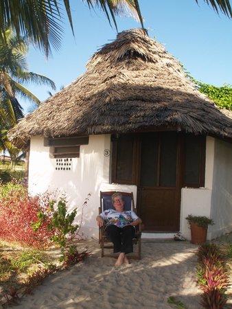 Kilwa Beach Lodge: Chambre sur la plage