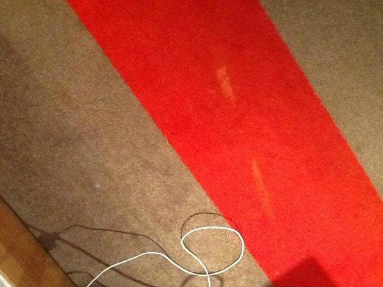 Mercure Porto Centro Hotel : stained carpet