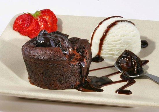 San Marco Cafe Bar: Chocolate souffle