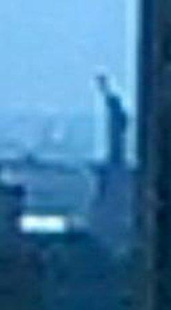Sheraton Brooklyn New York Hotel: 8-bit Statue of Liberty