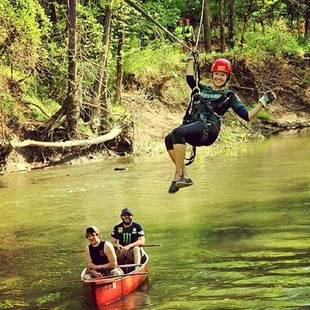 Hocking Hills Canopy Tours: the X Tour