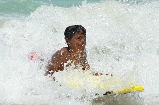 bahía de Simpson, St. Maarten: Riding the white wash - Tri-Sport Eco Tours