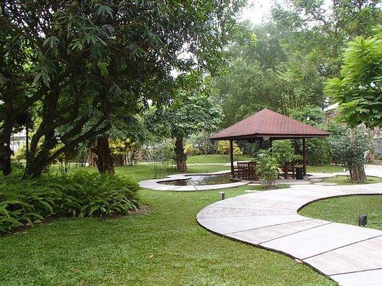 Royal Ambarrukmo Yogyakarta: Magnificent garden