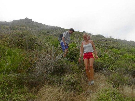 bahía de Simpson, St. Maarten: Get away from it all - Tri-Sport EcoTours