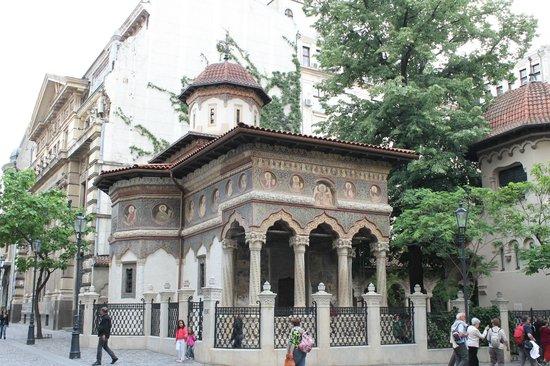 Iglesia Stavropoleos: Stavropoleos-Kirche (Biserica Stavrapoleos), Bukarest