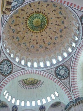 Mezquita de Suleiman o Mezquita de Süleymaniye: Süleymaniye-Moschee
