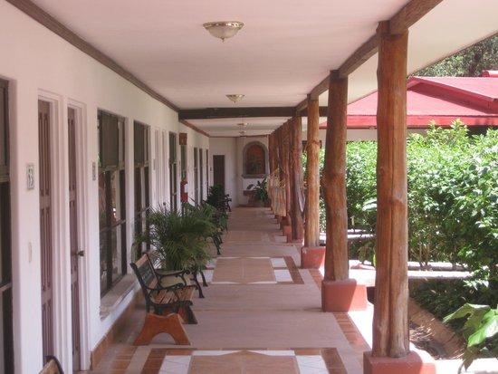 Hacienda Guachipelin: Acceso a las habitaciones