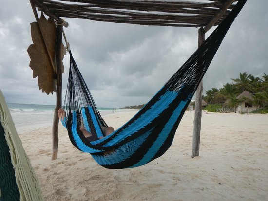 Ahau Tulum: Hammocks for use