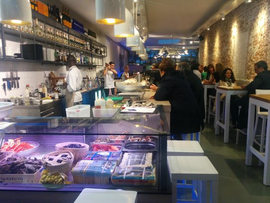 The Seafood Bar: El restaurante