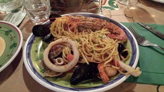Osteria MEZZALUNA: it was delicious