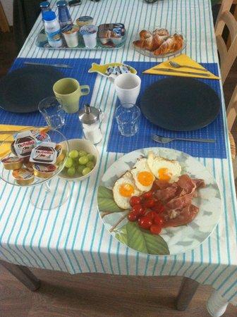 B&B La Casetta : La super colazione della domenica