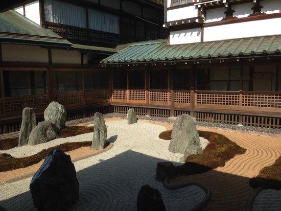 Fukuchiin : Vista giardino dalla camera