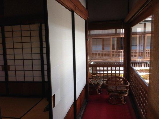 Fukuchiin : Veranda