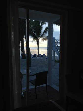 Sunscape Sabor Cozumel: Sunset from our patio