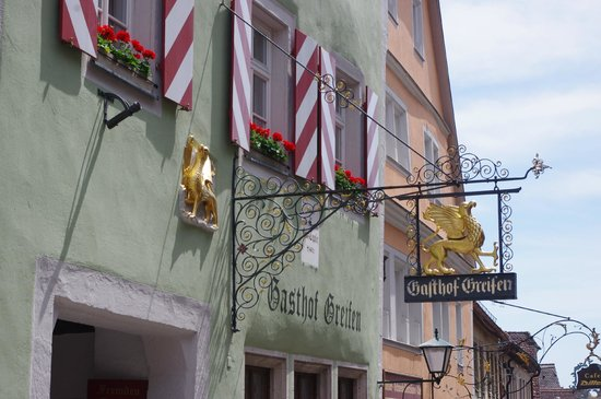 Hotel-Gasthof Goldener Greifen: B&B Sign