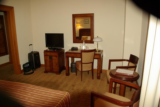 Hotel Majestic Plaza Prague : chambre climatisée
