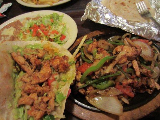 Cinco Amigos: I made 8 tortilias of Chicken