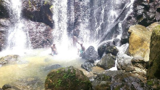 good time at Argyle waterfall