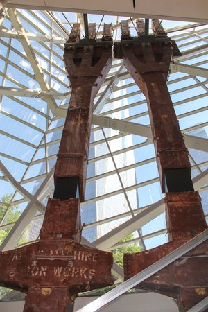 Mémorial du 11-Septembre : Beams from the Twin Towers