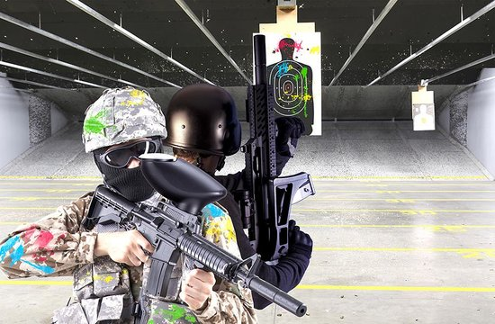 ‪Paintball & Machine Gun Range‬
