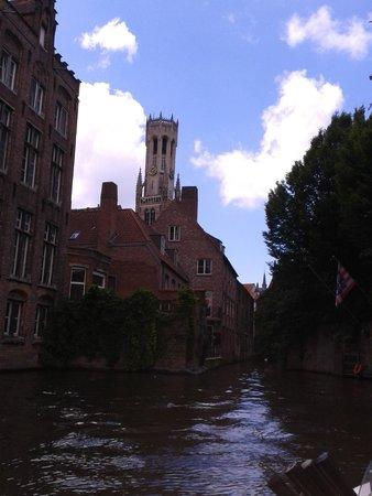 Martin's Brugge: Canal views