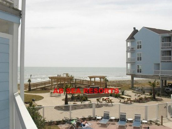 Seascape Condominium Rentals: View from Balcony