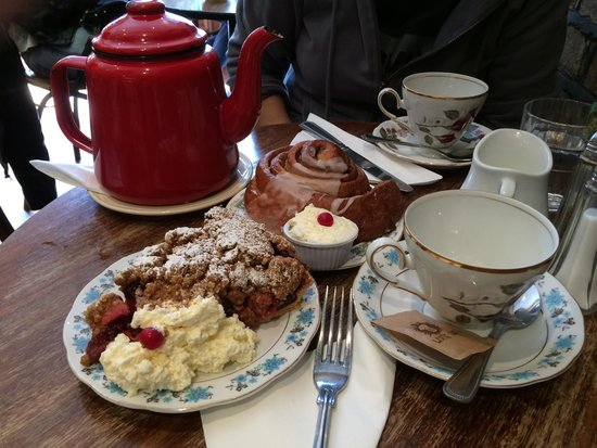 Queen of Tarts : Un desayuno delicioso!