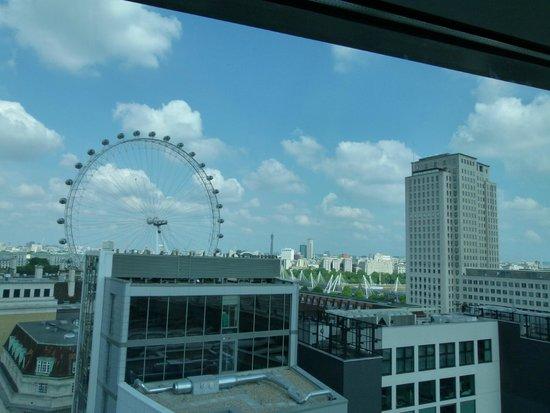 Park Plaza County Hall London: London Eyes dall'hotel