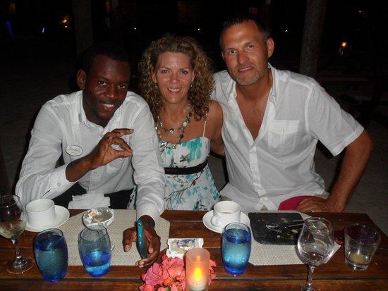 Sandals Montego Bay: Stewfish with Andre