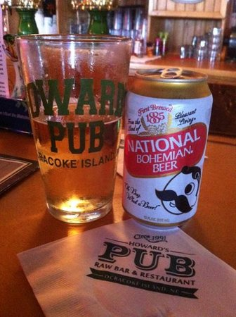 Howard's Pub: $2.50 beer special - we'll take it!