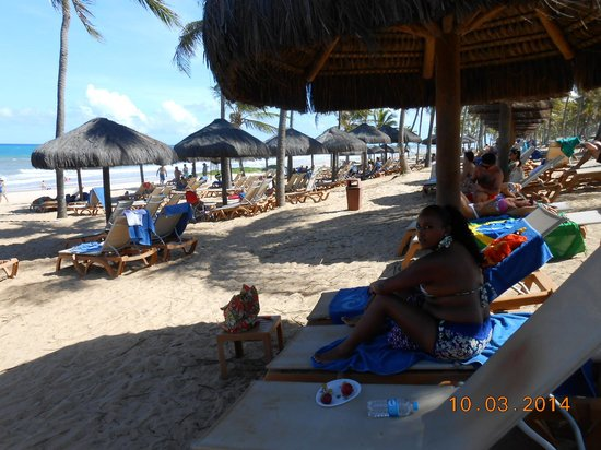 Grand Palladium Imbassai Resort & Spa: quiosques/duchas e bar