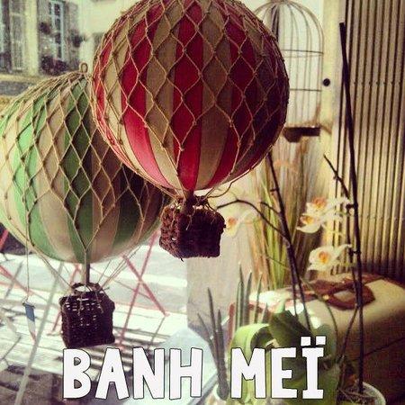 Banh mei : Nouvelle déco