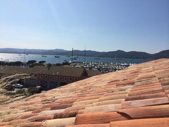 Hotel de Paris Saint-Tropez: View from the rooftop