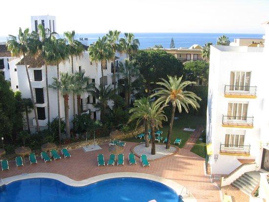 Ona Alanda Club Marbella: Vistas desde el balcón