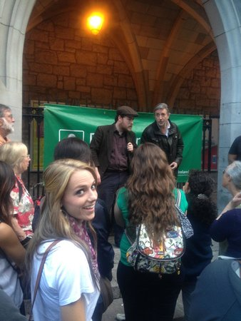 Dublin Literary Pub Crawl: the actors, and well me...