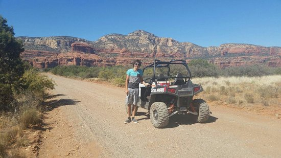 Red Rock ATV Rentals: Great scenery all throughout the trail!