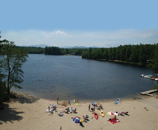 Danforth Bay Camping & RV Resort: View of Ossipee Lake