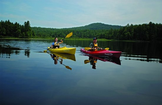 Danforth Bay Camping & RV Resort: Kayaking at Danforth Bay