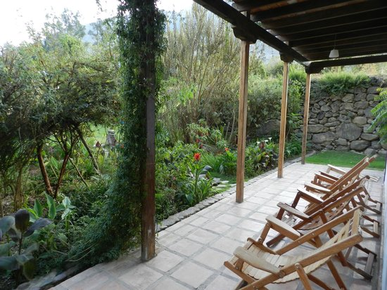 El Albergue Ollantaytambo : View from our room