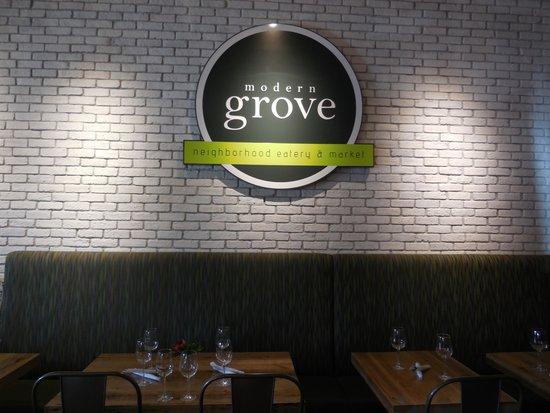 Modern Grove: Nice Sign
