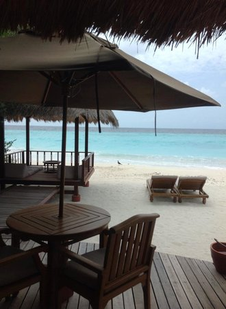 Banyan Tree Vabbinfaru : Personal Beach