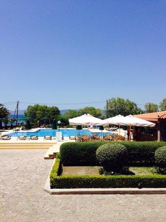 Bella Vista Hotel: View from the terrace of Bella Vista