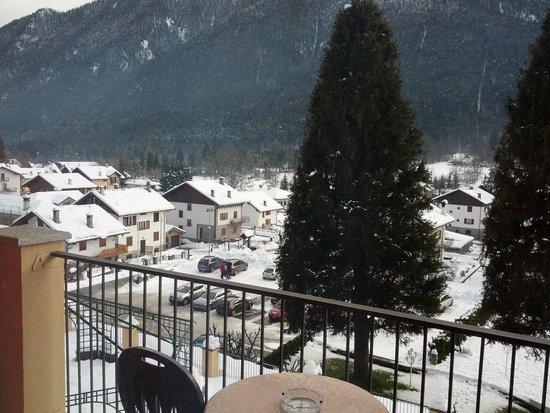 Hotel Stella Alpina : la vista dal balcone